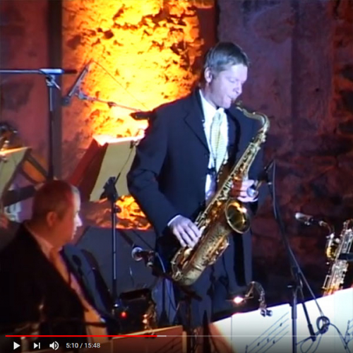 """VIDEO - Orchester Thomas Ramsl - """"Swing when you`re singing"""""""